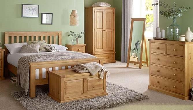 Heritage - CHUNKY PINE - Bedroom