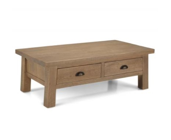 ALBERT Coffee Table With Drawers
