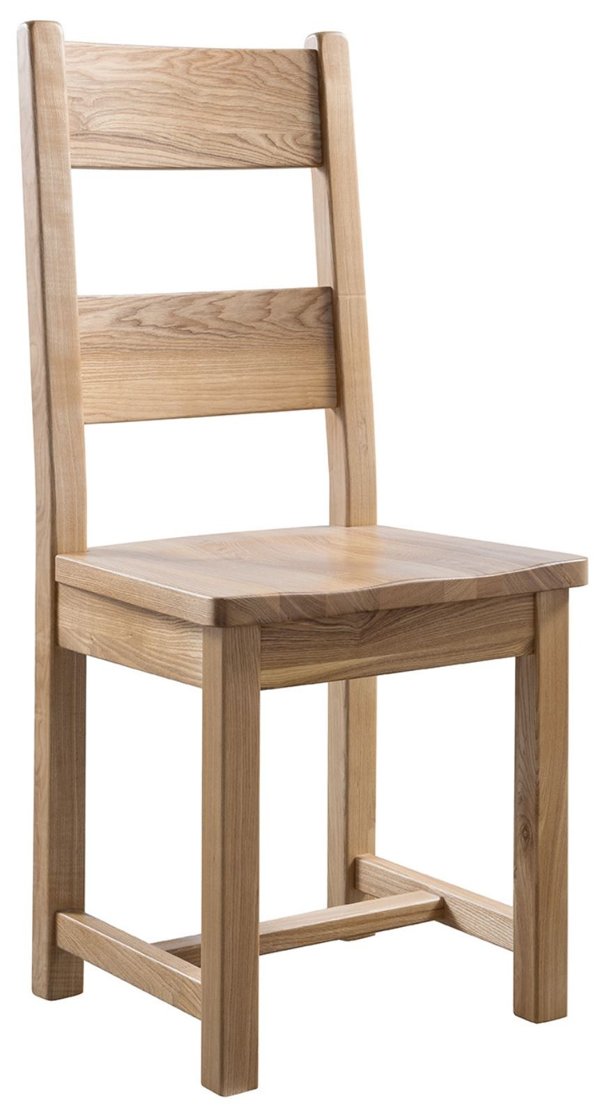 CRAVEN Farmhouse Dining Chair with wooden seat
