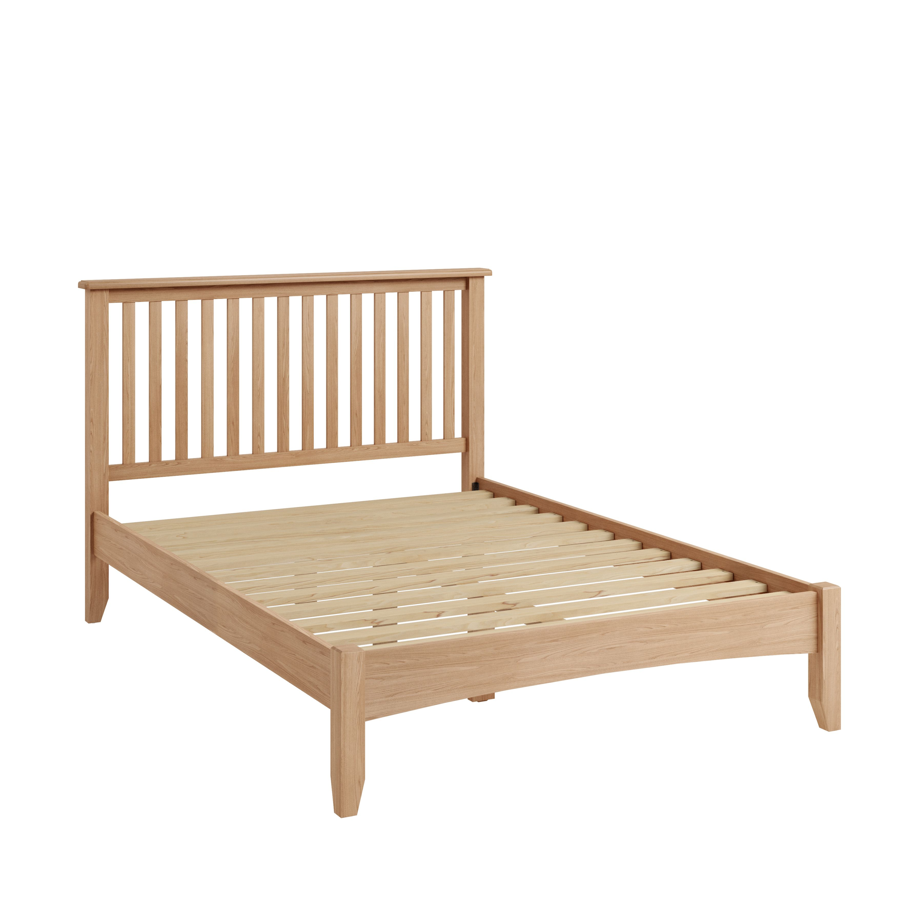 "GARTON 4'6"" Bed"