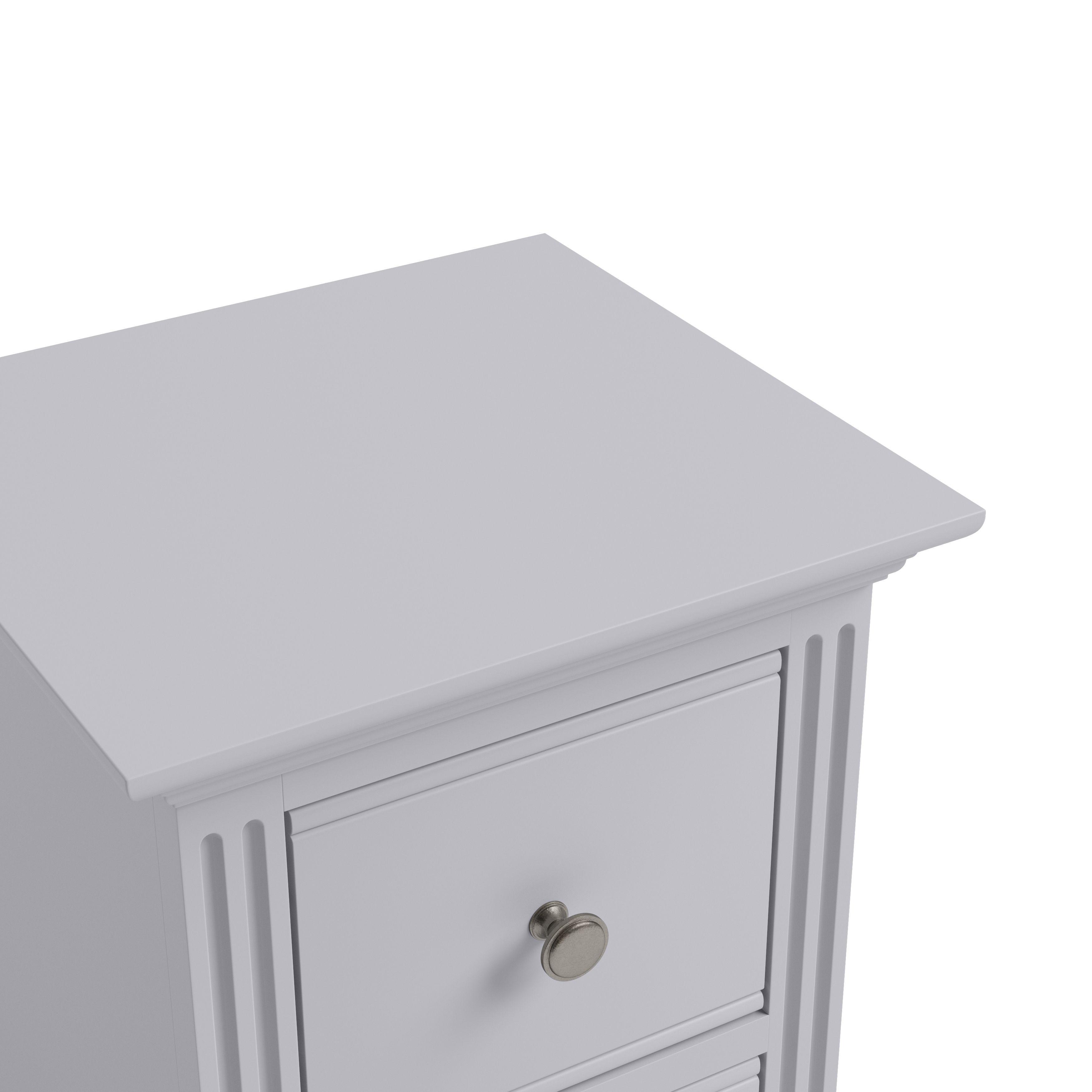 EIFFLE GREY - Small Bedside Cabinet