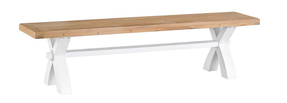 TAVISTOCK WHITE Small Cross Bench