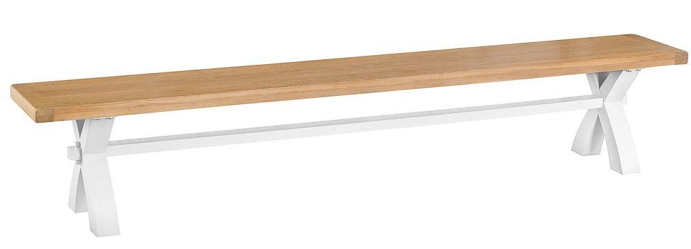TAVISTOCK WHITE Large Cross Bench