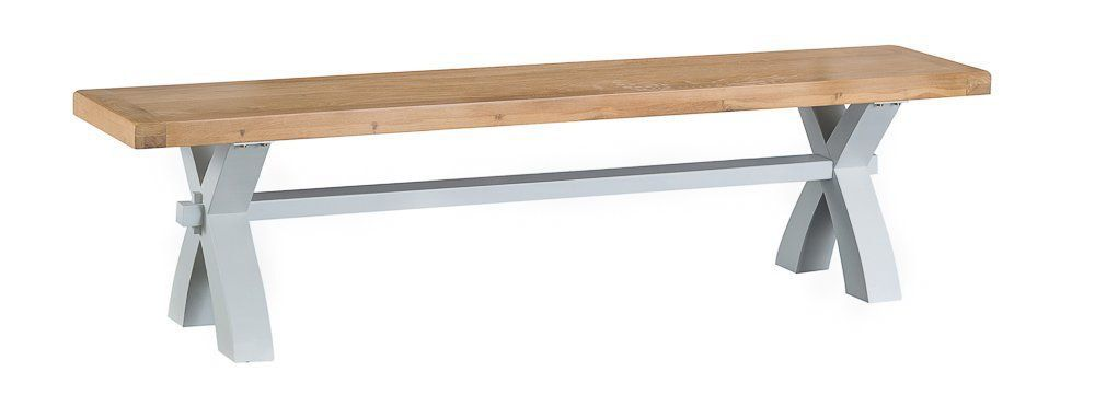 TAVISTOCK GREY Small Cross Bench