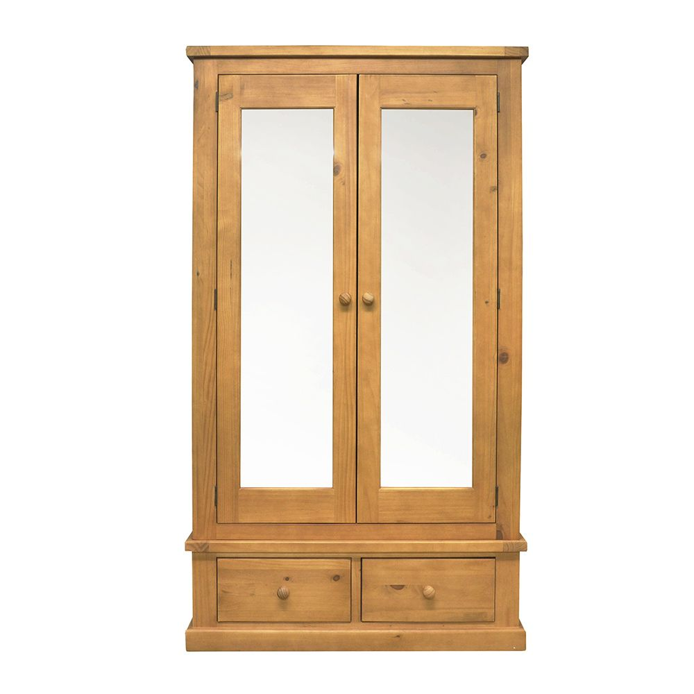 CHUNKY PINE Large Mirror Double Robe