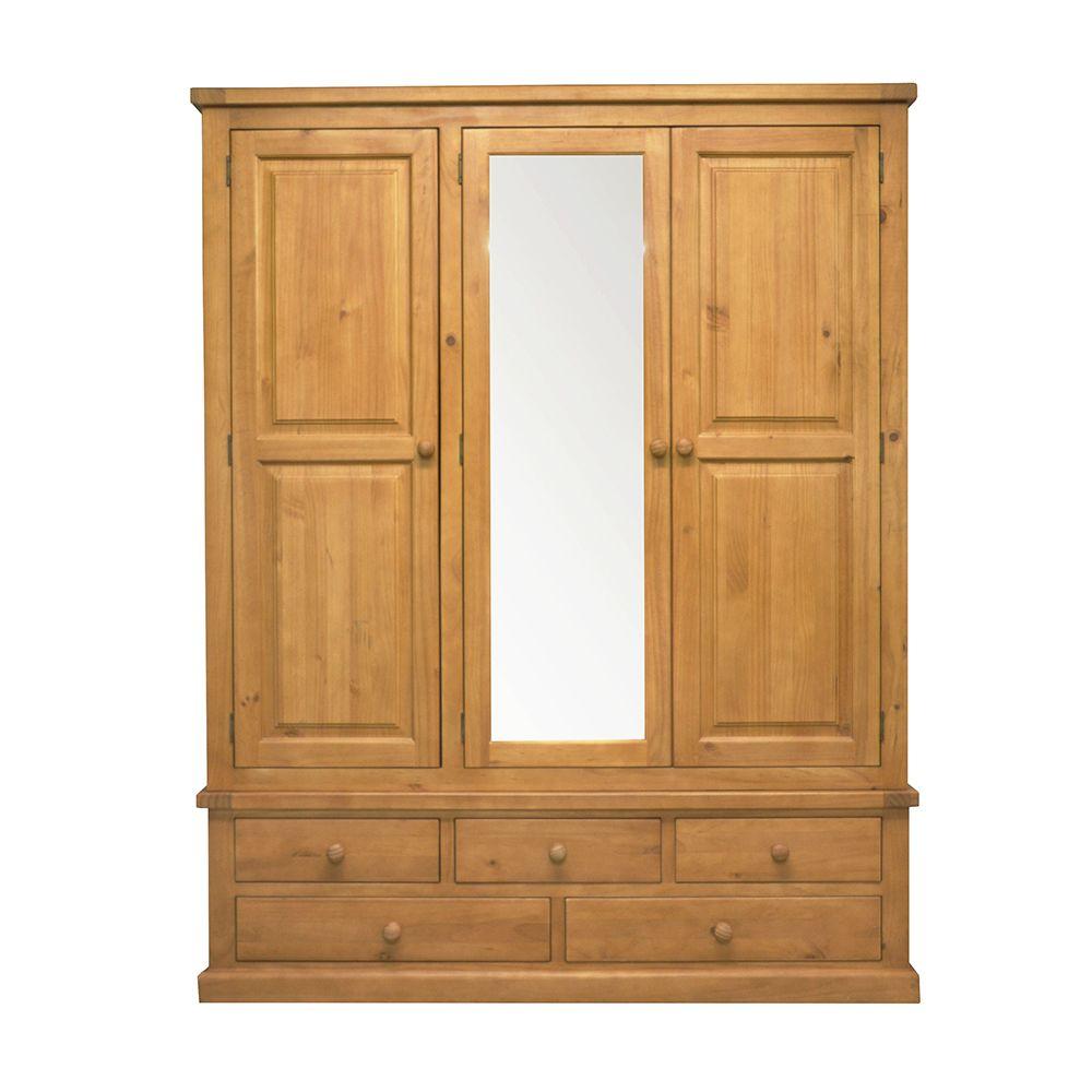 CHUNKY PINE Large Mirror Triple Robe