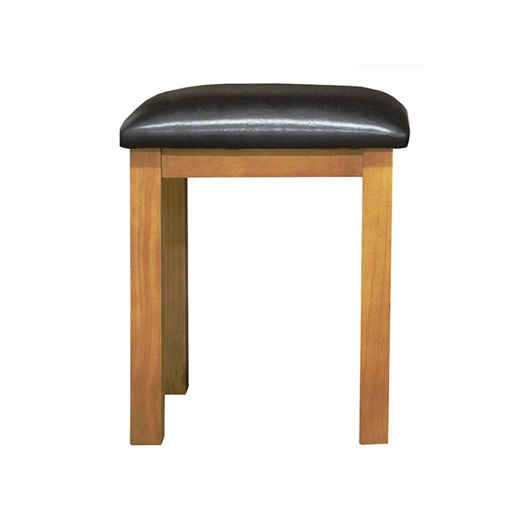 CHUNKY PINE Dressing Table Stool