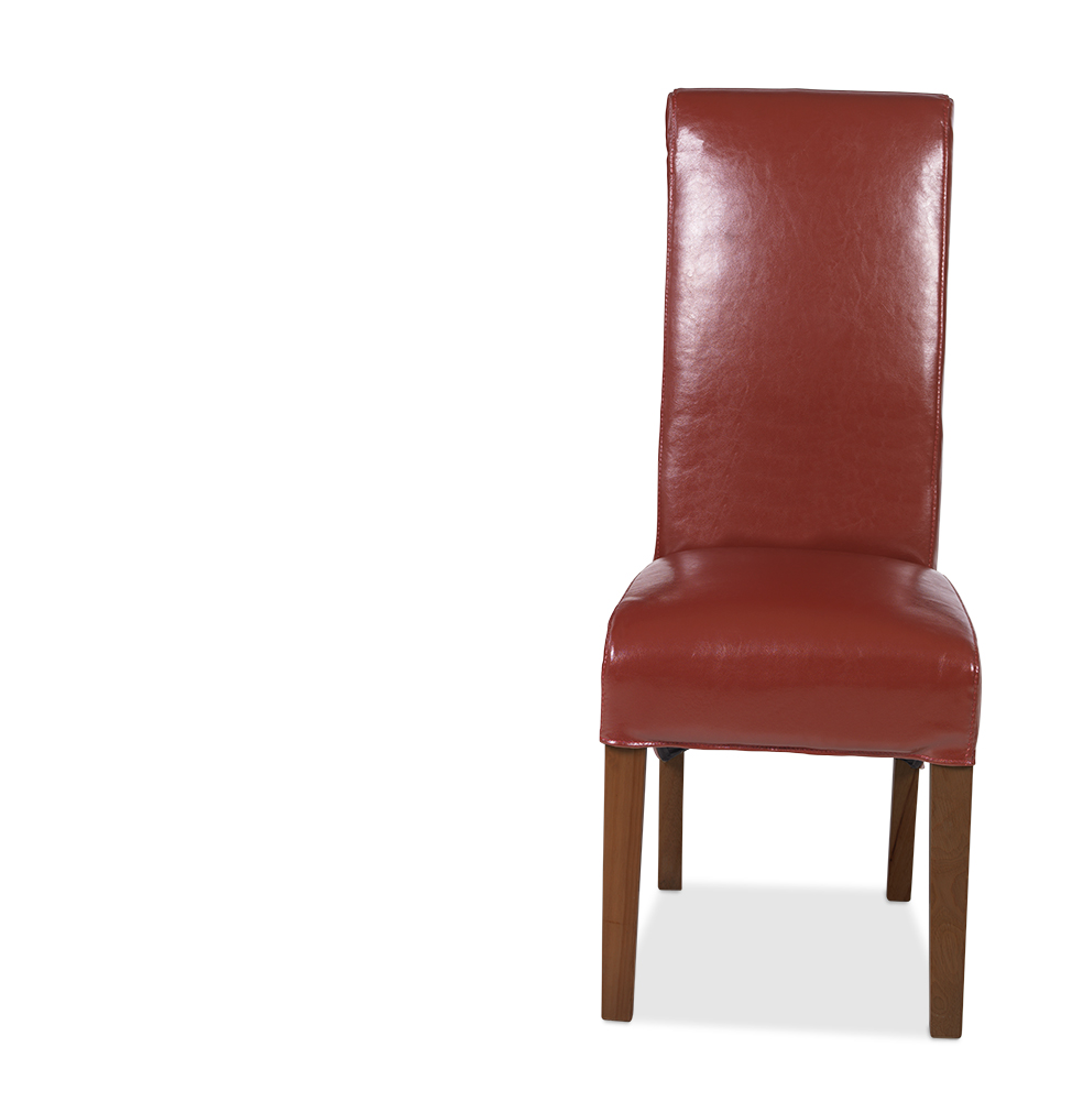 KODA Bonded Leather Chair Red