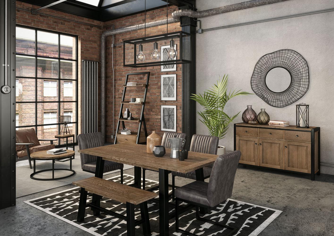 Heritage - DOCKLANDS OAK - Living & Dining