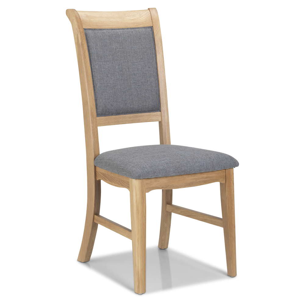 CLAREMONT OAK Dining Chair Upholstered