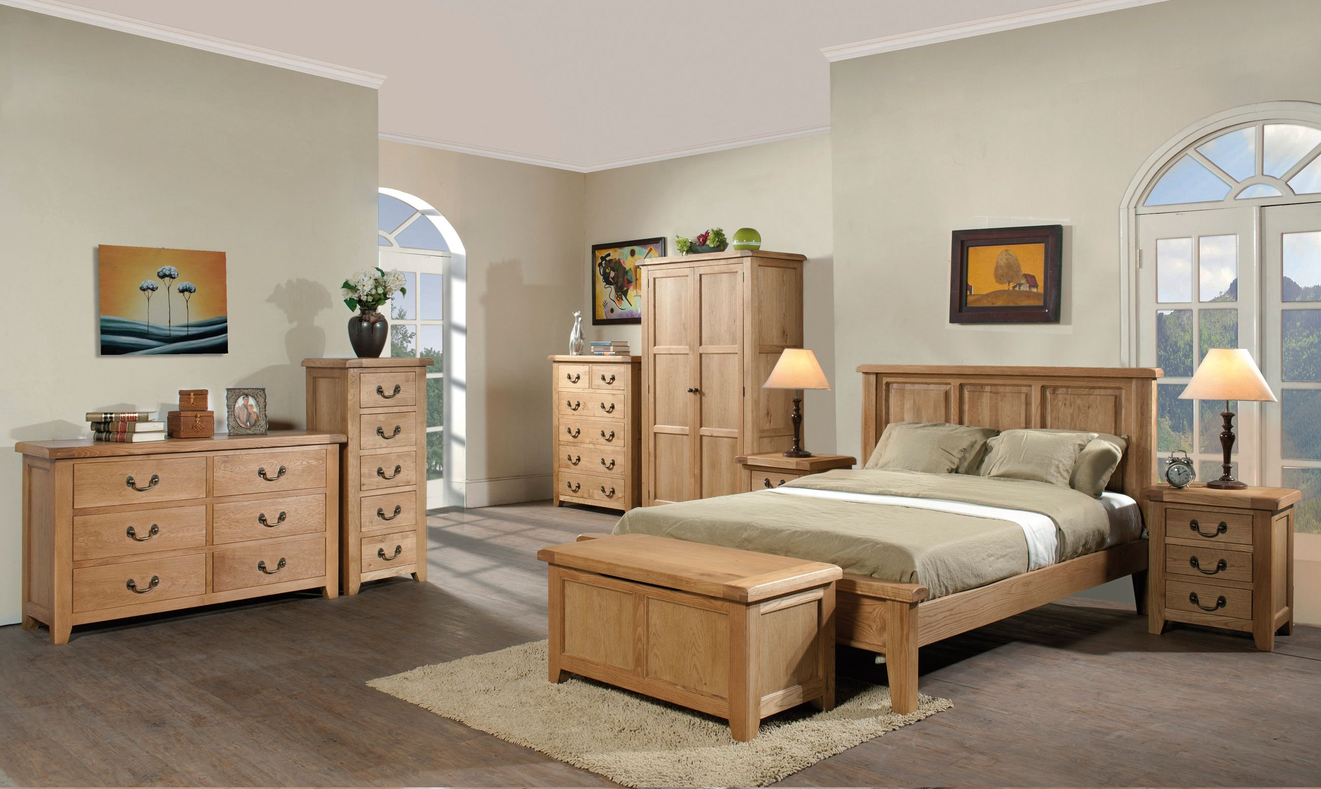Devonshire Pine - SUMMERFIELD - Bedroom