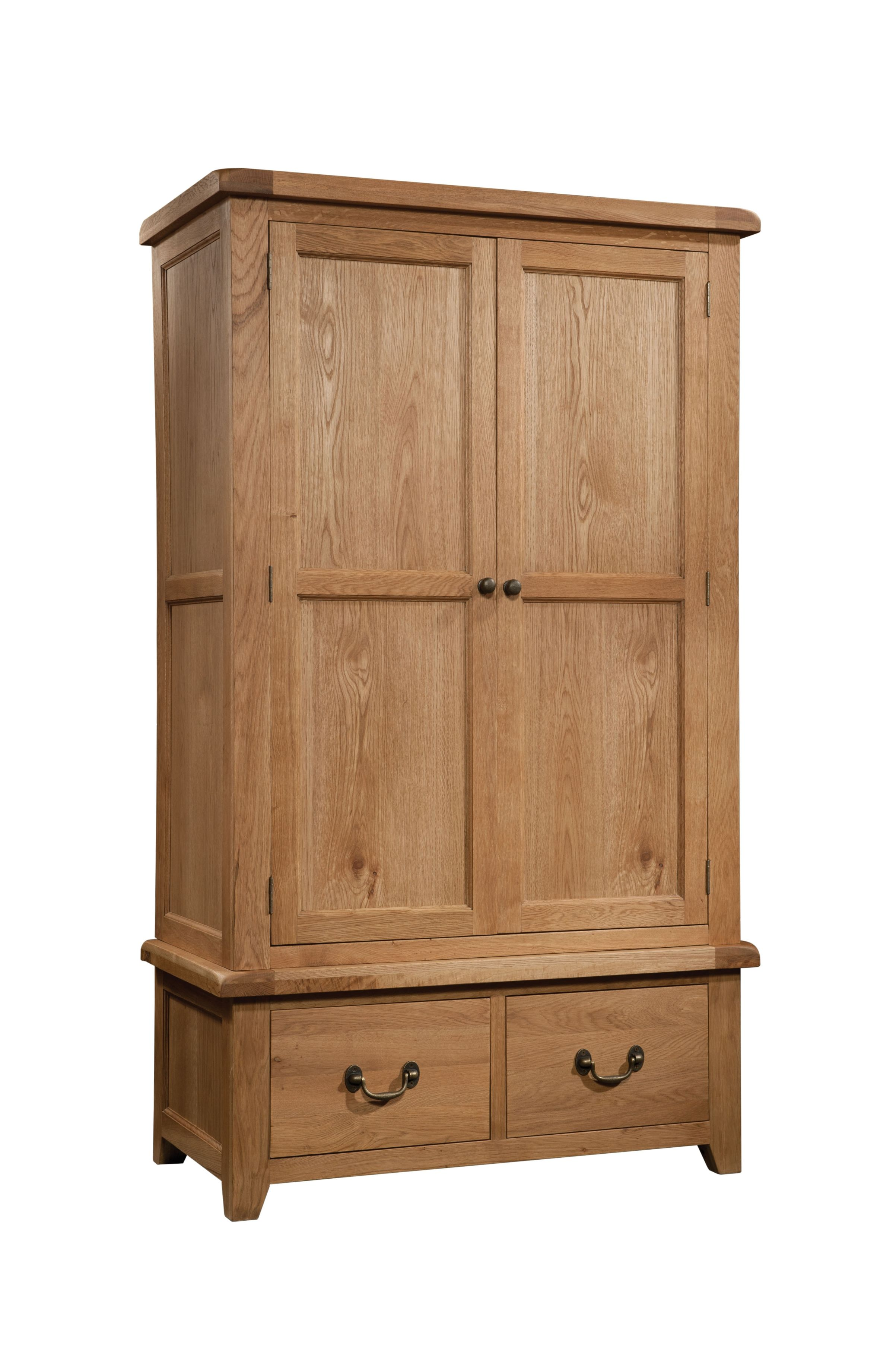 SUMMERFIELD Double Wardrobe with 2 Drawers
