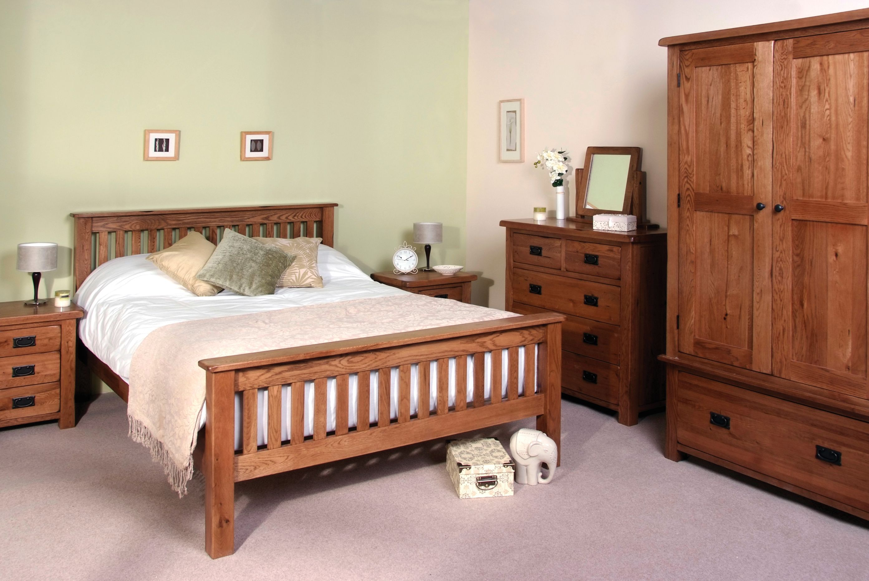 Devonshire Pine - RUSTIC OAK - Bedroom