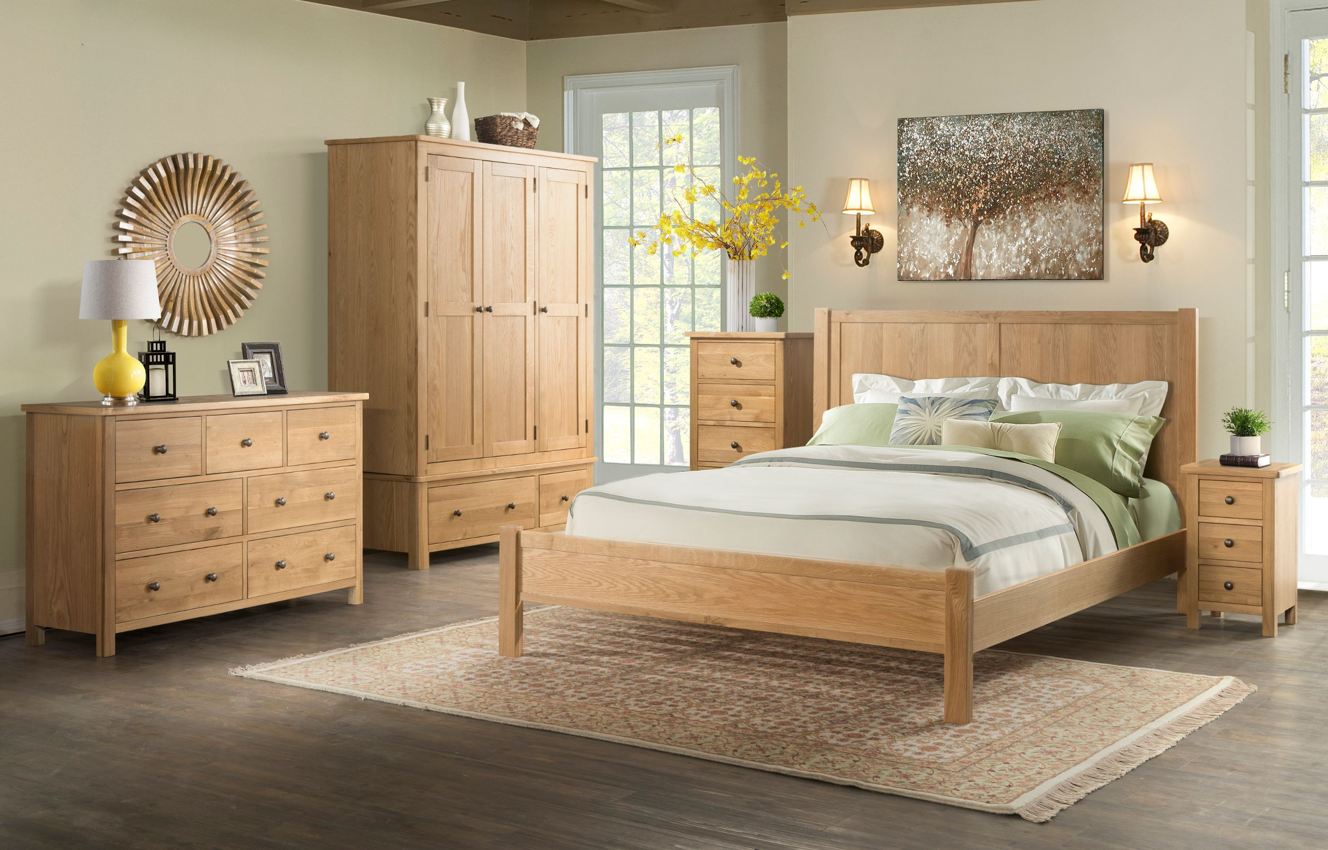 Devonshire Pine - BROUGH OAK - Bedroom
