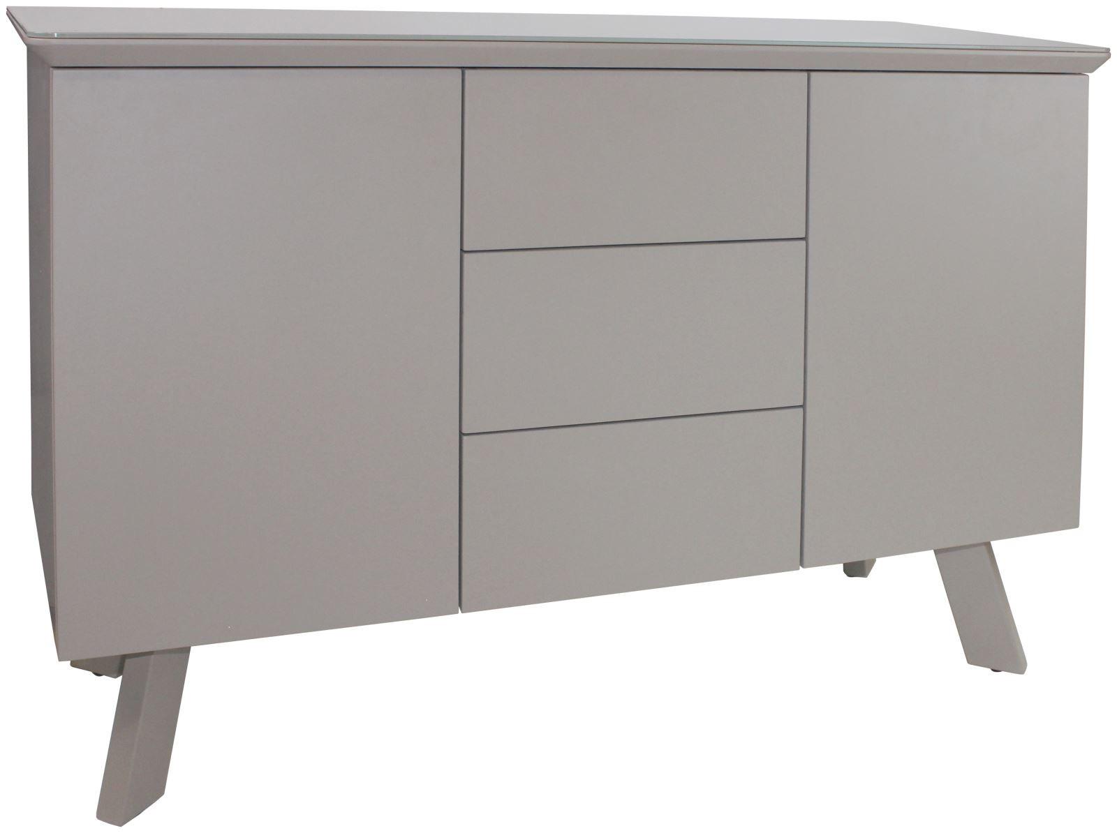 CONTEMPORARY Small Sideboard - Cappuccino