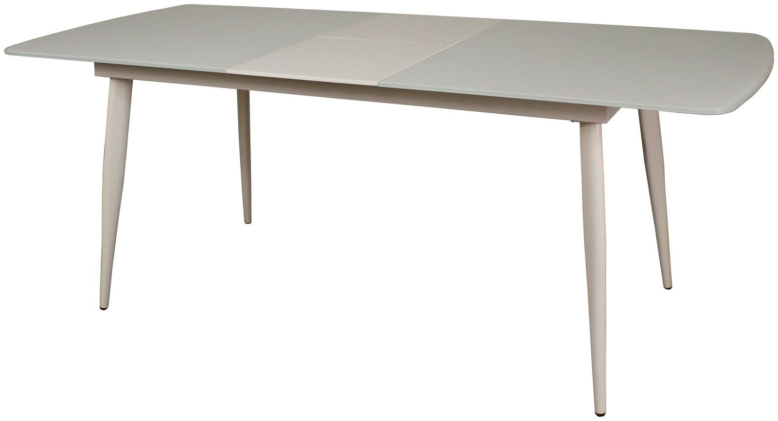 CONTEMPORARY Large Dining Table - White