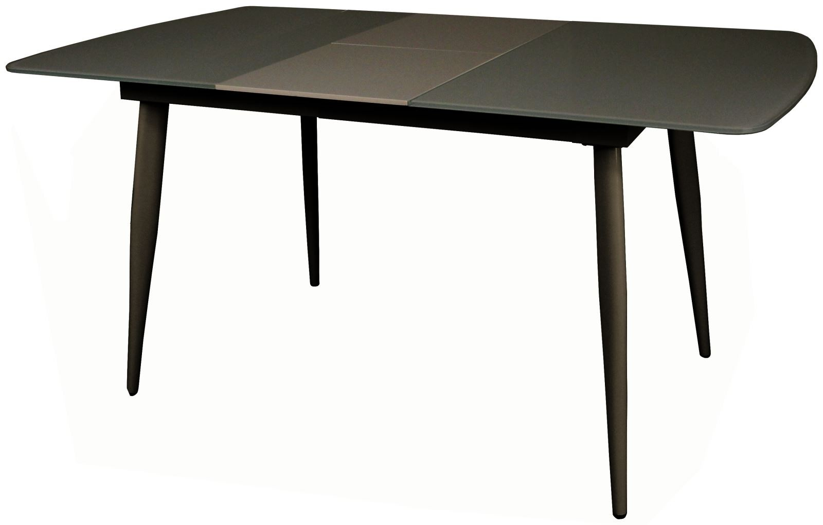 CONTEMPORARY Small Extending Dining Table - Grey
