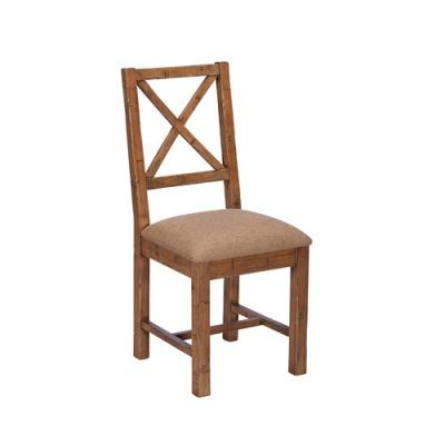 NIXON Upholstered Cross Back Dining Chair