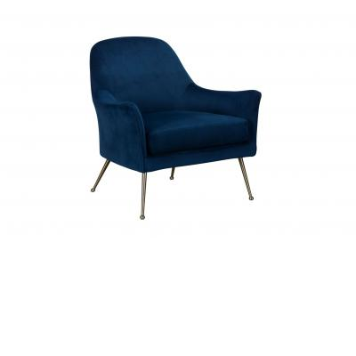 OCCASIONAL Wilson Occasional Chair (Blue)