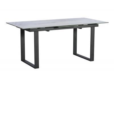 PANAMA 176cm-216cm Extending Dining Table (Light Grey)