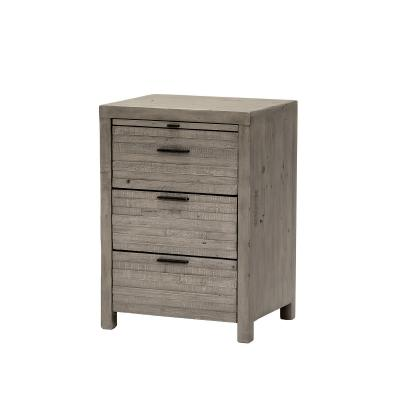 TUSCAN 3 Drawer Bedside
