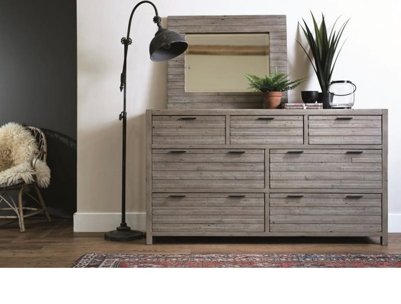 TUSCAN 7 Drawer Wide Chest