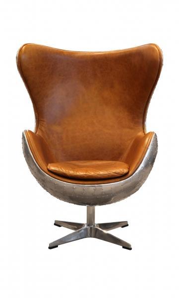 AVIATOR Keeler Chair - Vintage Jet Silver