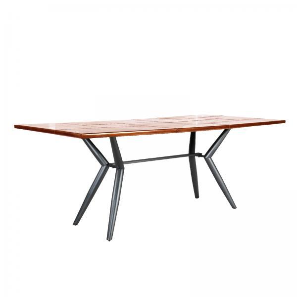 AVIATOR Lars Retro Table - Copper Metal Finish