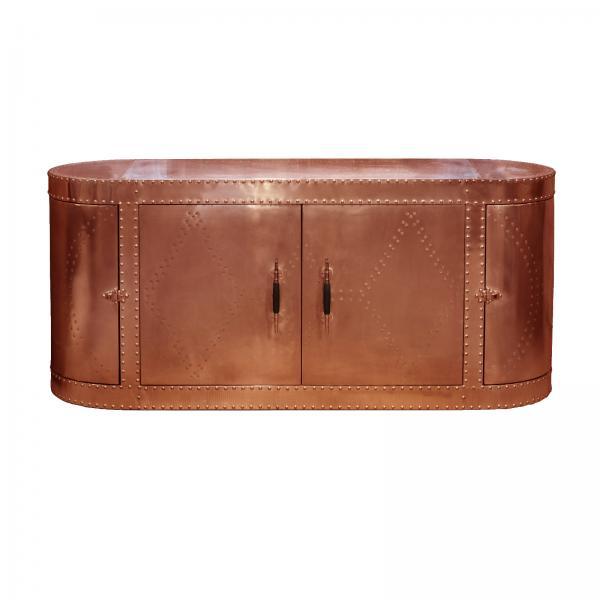 AVIATOR Sideboard - Copper Metal Finish