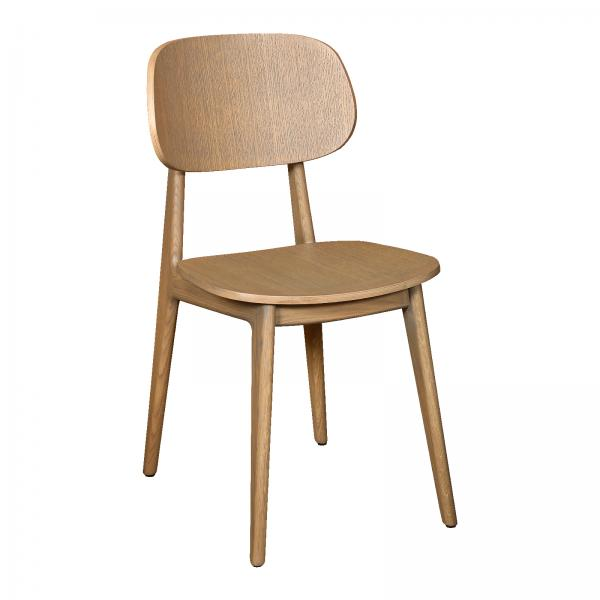 TAMBOUR Bari Chair - Wooden Seat and Back