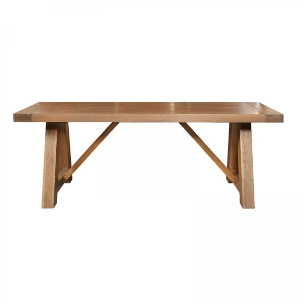 TAMBOUR Monastery Refectory Grey Oiled Table 2200