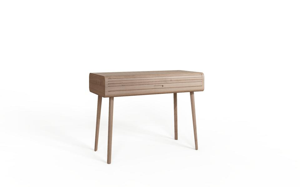 TAMBOUR Grey Studio Desk