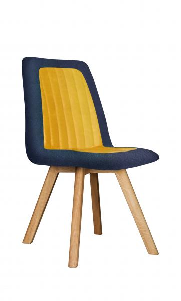 Contempo Henry Dining Chair - Wooden Legs