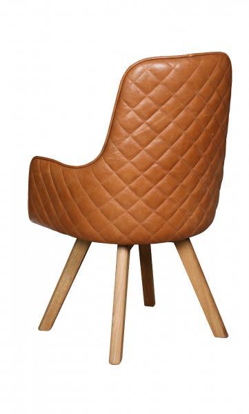 Contempo Ohio Chair - Wooden Legs
