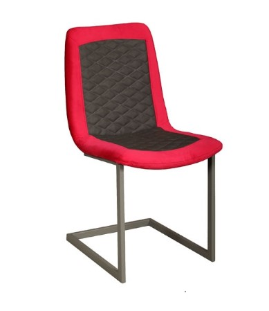 Contempo Sebi Dining Chair - Metal Legs