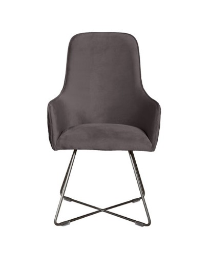 Contempo Utah Chair - Metal Legs
