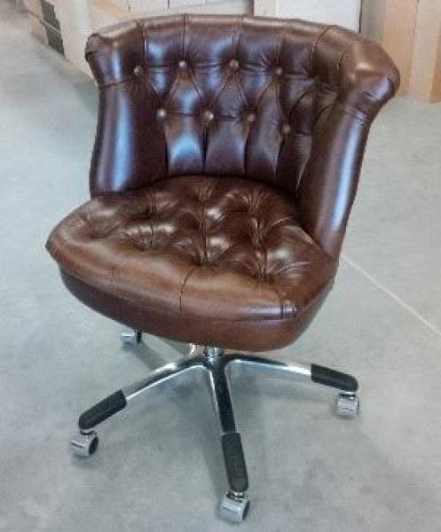 Upholstered Austin Buttoned Office Chair