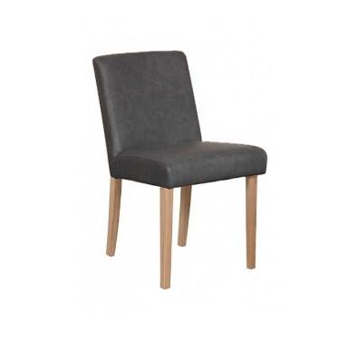 Upholstered Barton Chair - Oak Legs