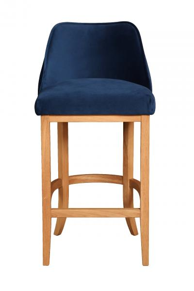 Upholstered Pluto Shellback Bar Stool