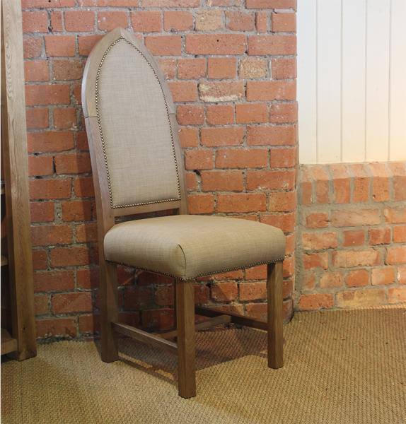 Upholstered Cathedral Chair