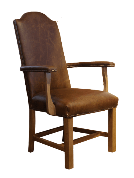 Upholstered President Carver Chair