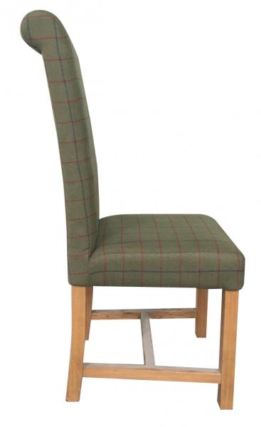 Upholstered Rollback Chair