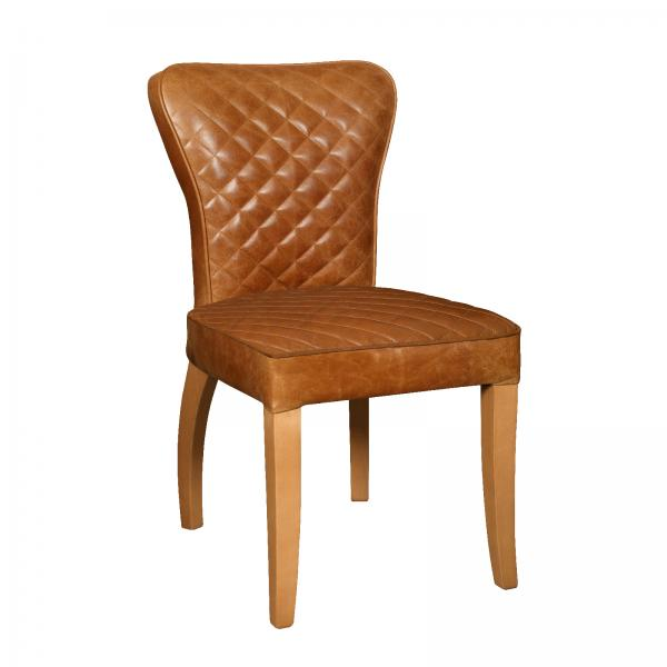 Upholstered Walter Chair - Wooden Legs