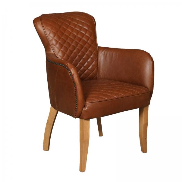 Upholstered Walter Chair with Arms