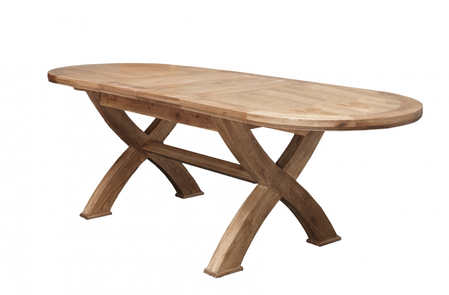 COPELAND 1800 Cross Leg Oval Ext. Dining Table (CP120) Finish