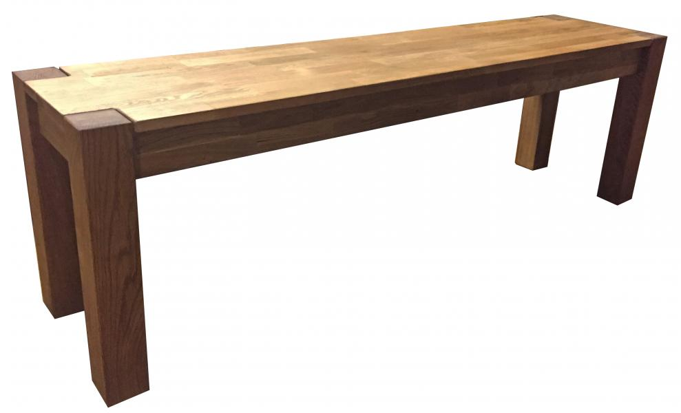 SHERWOOD Solid Oak Dining Bench