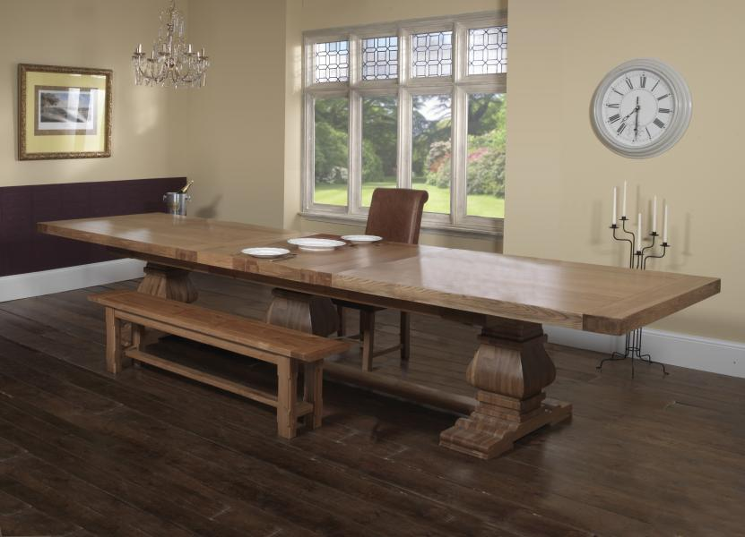 WINDERMERE Grand Ark Royal Monastery Table (Special Order Only)