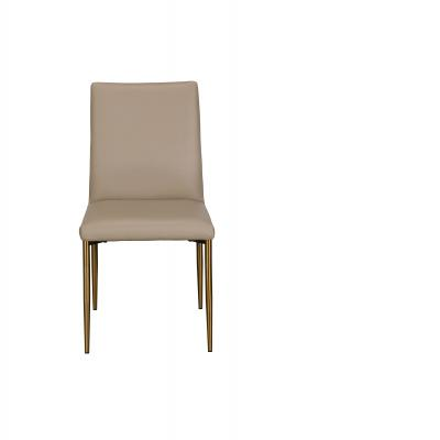 Annabel Dining Chair (Taupe PU)