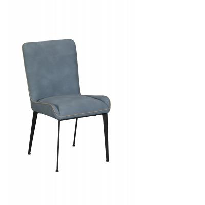 Rebecca Dining Chair (Blue PU)