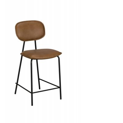 Olivia Bar Chair/Stool (Brown PU)